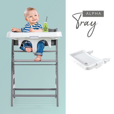 Compatible with tray