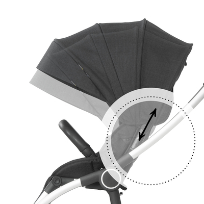 Height-adjustable canopy